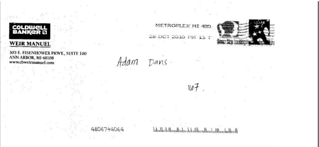 Bad sales letter obvious adams marketing newsletter as you can see they hand addressed the envelope used a live stamp except they fumbled the ball at the two yard line because they sent the letter with spiritdancerdesigns Gallery